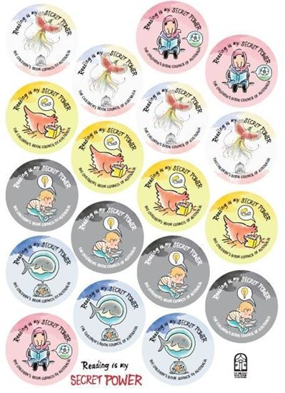 Picture of z CBCA Book Week Stickers