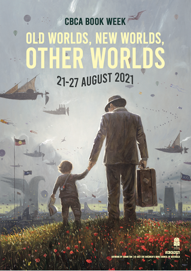 Picture of SOLD OUT - 2021 CBCA Book Week Poster (flat)